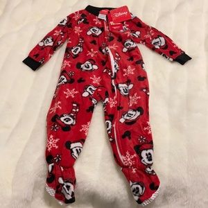 Disney Mickey & Minnie Mouse Baby Footed Pajamas